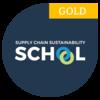 Supply Chain Sustainability School gold logo